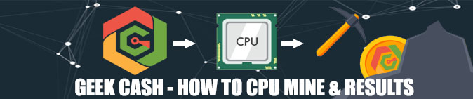 GeekCash – CPU Mining Tutorial