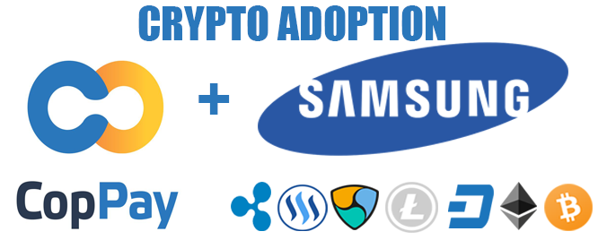 Samsung Accepting Crypto