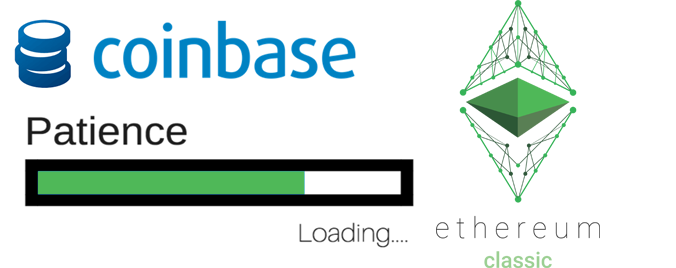 Ethereum Classic Final Testing On Coinbase