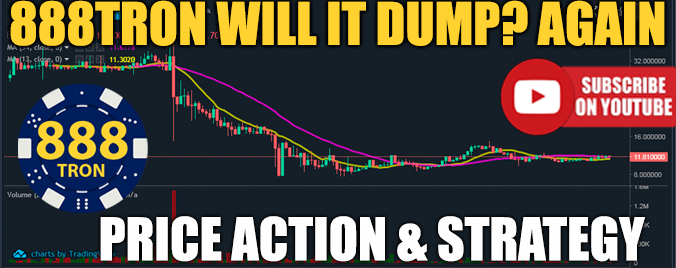 888TRON PRICE ACTION AND STRATEGY