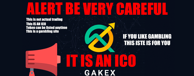 GAEX.COM DAPP Is An ICO And May Go WRONG