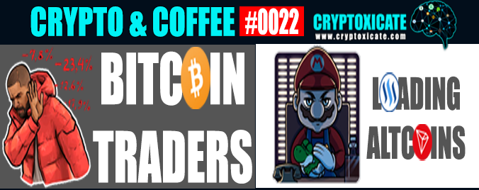 CRYPTO & COFFEE 0022 – BUY RED SELL GREEN ITS A GREEN TIME