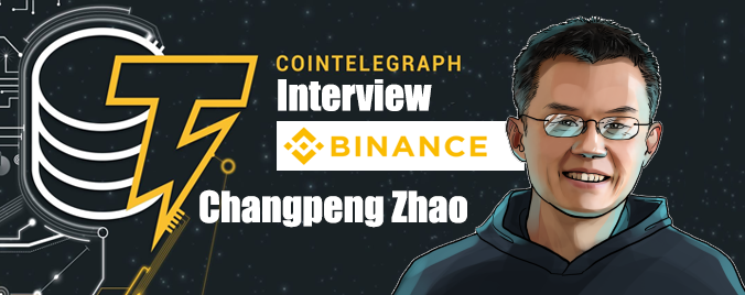 Cointelegraph Interview Changpeng Zhao Before The Bitcoin Halving