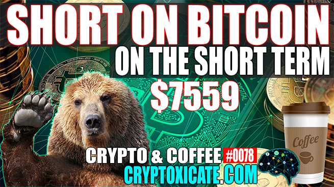 SHORT ON BITCOIN FOR THE SHORT TERM – CRYPTO & COFFEE #0078