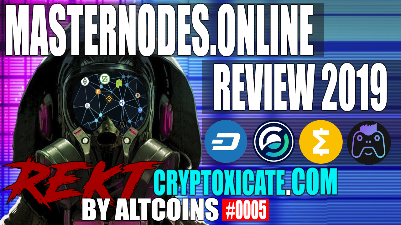 [VIDEO] MASTERNODES.ONLINE REVIEW FOR 2019 – REKT BY ALTCOINS #0005