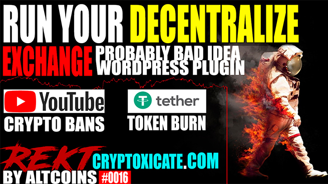 BITCOIN MAXIMALIST BEST OPINION EVER – REKT BY ALTCOINS #0016