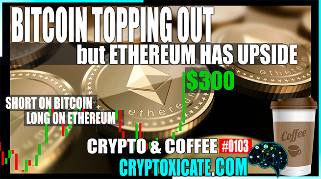 Bitcoin And Ethereum Price Struggle To Keep Going Up – Crypto & Coffee #0103