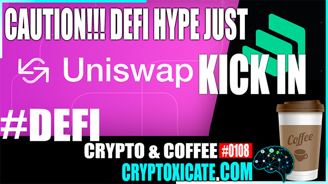 DEFI HYPE JUST KICK IN ETHEREUM TO $300 – Crypto & Coffee #0108