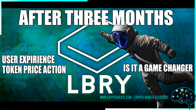 LBRY TV USER EXPIRIENCE AND PRICE ACTION – PERSONAL REVIEW