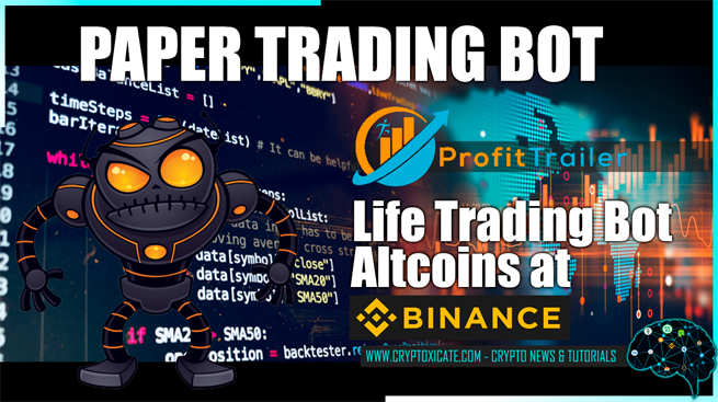 ALTCOIN TRADING BOT AND NOW PAPER TRADING BOT