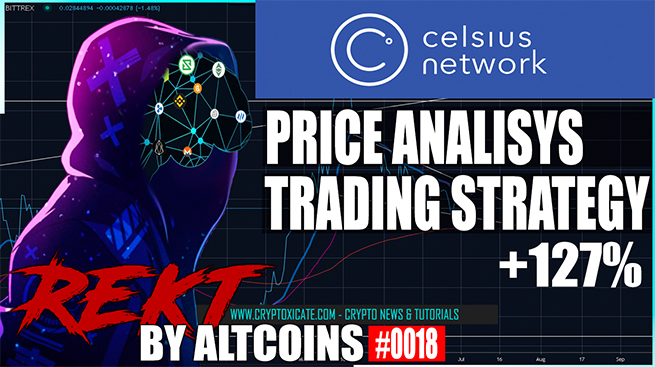 Celsius Network Price Update & Strategy  – REKT BY ALTCOINS #0018
