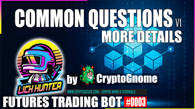 BINANCE TRADING BOT COMMON QUESTIONS – Lickhunter Crypto Trading Bot