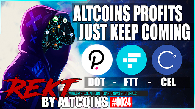 ALTCOINS PROFITS KEEP COMING 2020 ALTCOIN SEASON – REKT BY ALTCOINS #0024