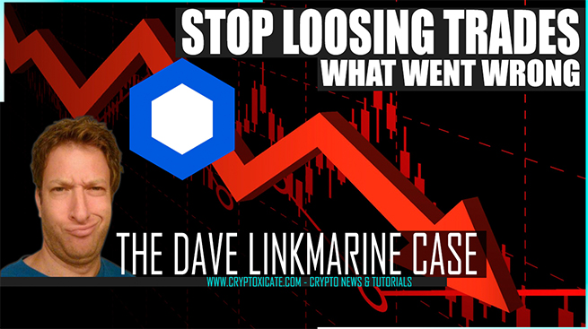 WHY YOU KEEP LOOSING ON CRYPTO – THE DAVE PORTNOY CHAINLINK CASE