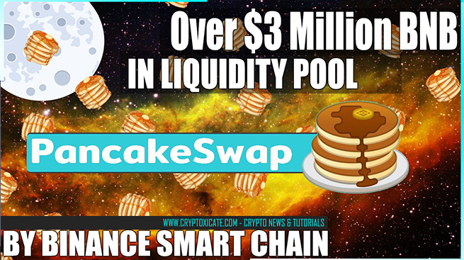 Binance Smart Chain Support Projects - Pancake Swap 120k BNB Pool