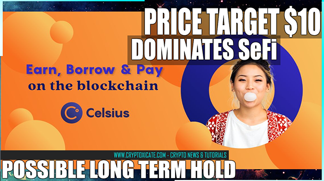 Celsius Network Price Action And Crypto Loans