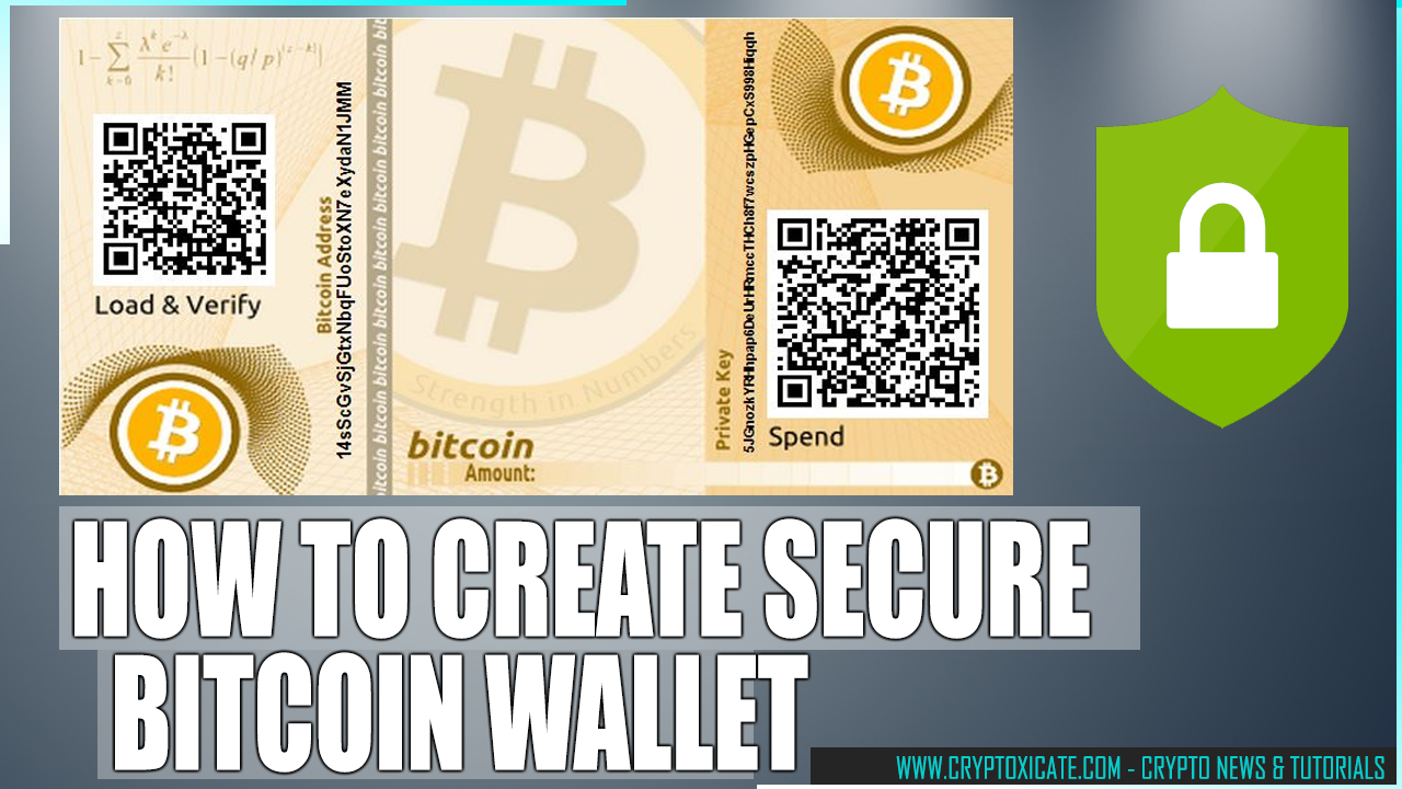 HOW TO CREATE BITOIN PAPER WALLET 2020