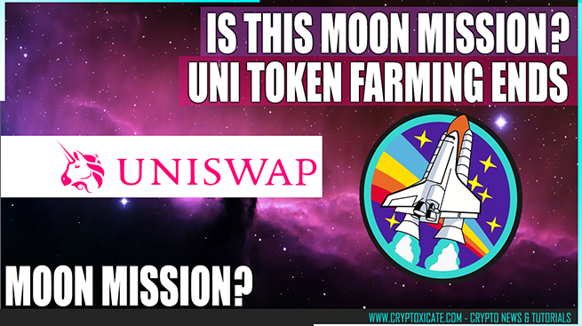 Uniswap UNI Token Farming Ended November 17