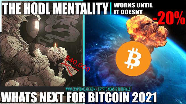 HODL Works Until It Doesnt – Bitcoin 20% Down In 1 Day