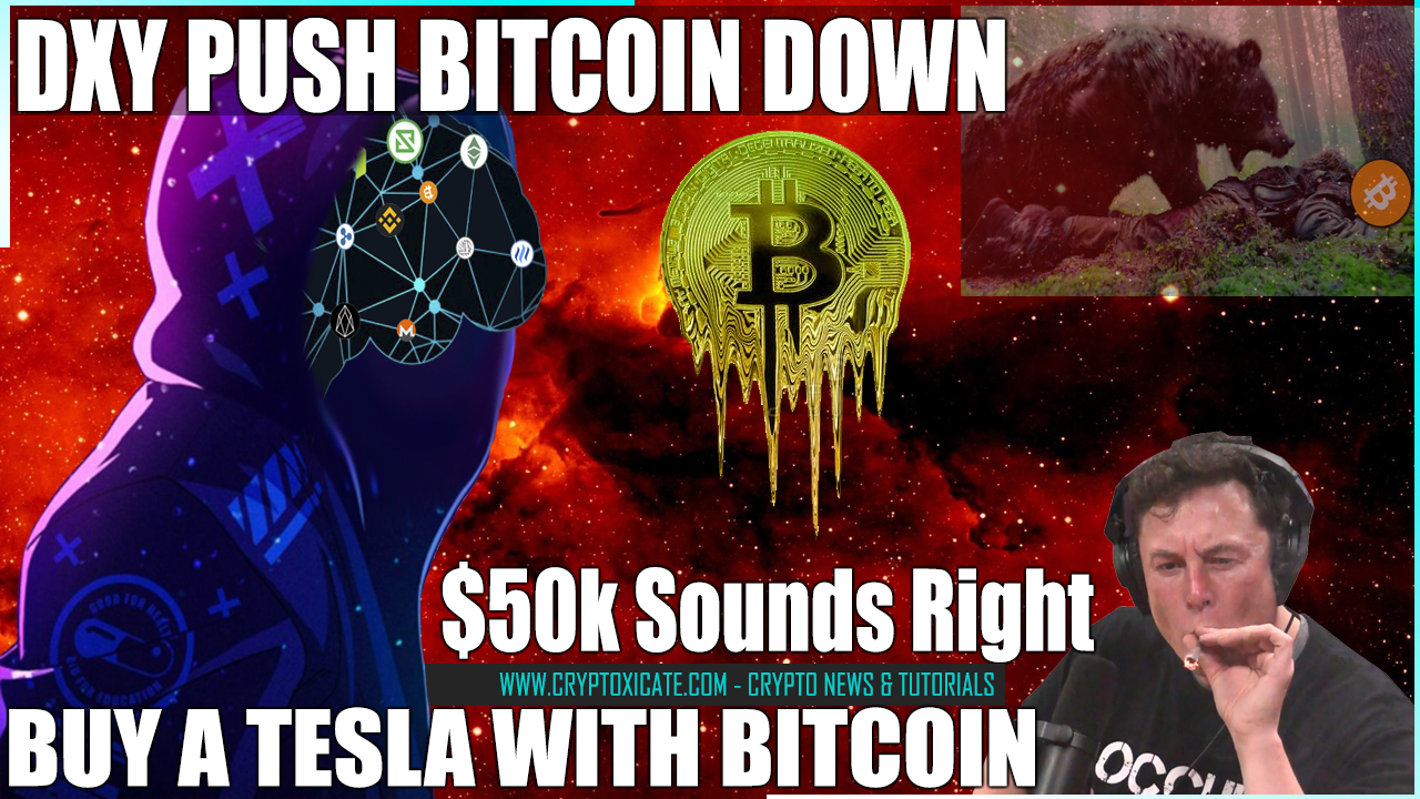 DESPITE TESLA AND FIDELITY NEWS BITCOIN DIP AGAIN - PLAN STILL IN MOTION