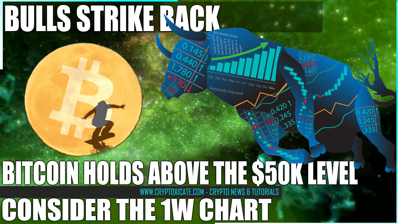 BULLS STRIKE BACK - BITCOIN PRICE HOLD THE LINE