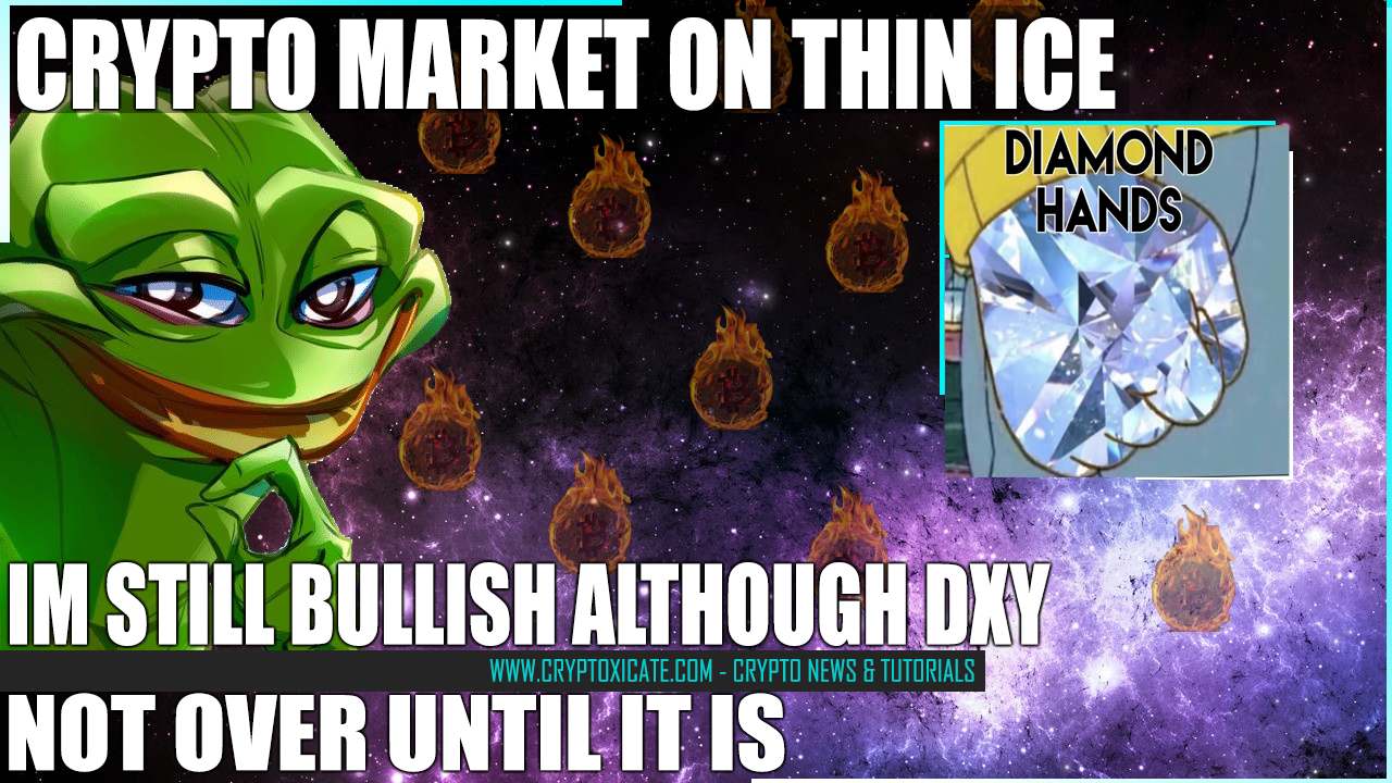 CRYPTO MARKET ON THIN ICE – FIRST TIME SINCE THE BULL RUN STARTED