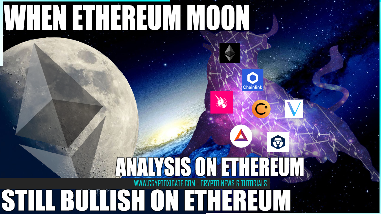 ETHEREUM WHEN BULLISH - ETHEREUM IS LAGGING HARD RIGHT NOW